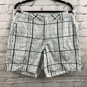 O'Neil plaid shorts